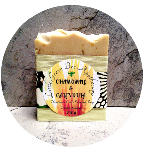 CHAMOMILE & CALENDULA SOAP PACKAGED*** CROPPED