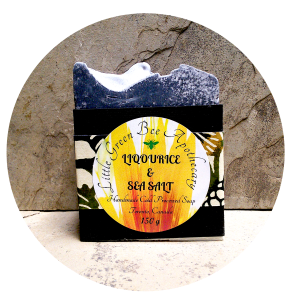 LIQOURICE & SEA SALT SOAP PACKAGED*** CROPPED