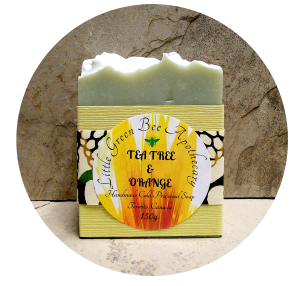 TEA TREE & ORANGE SOAP PACKAGED*** CROPPED