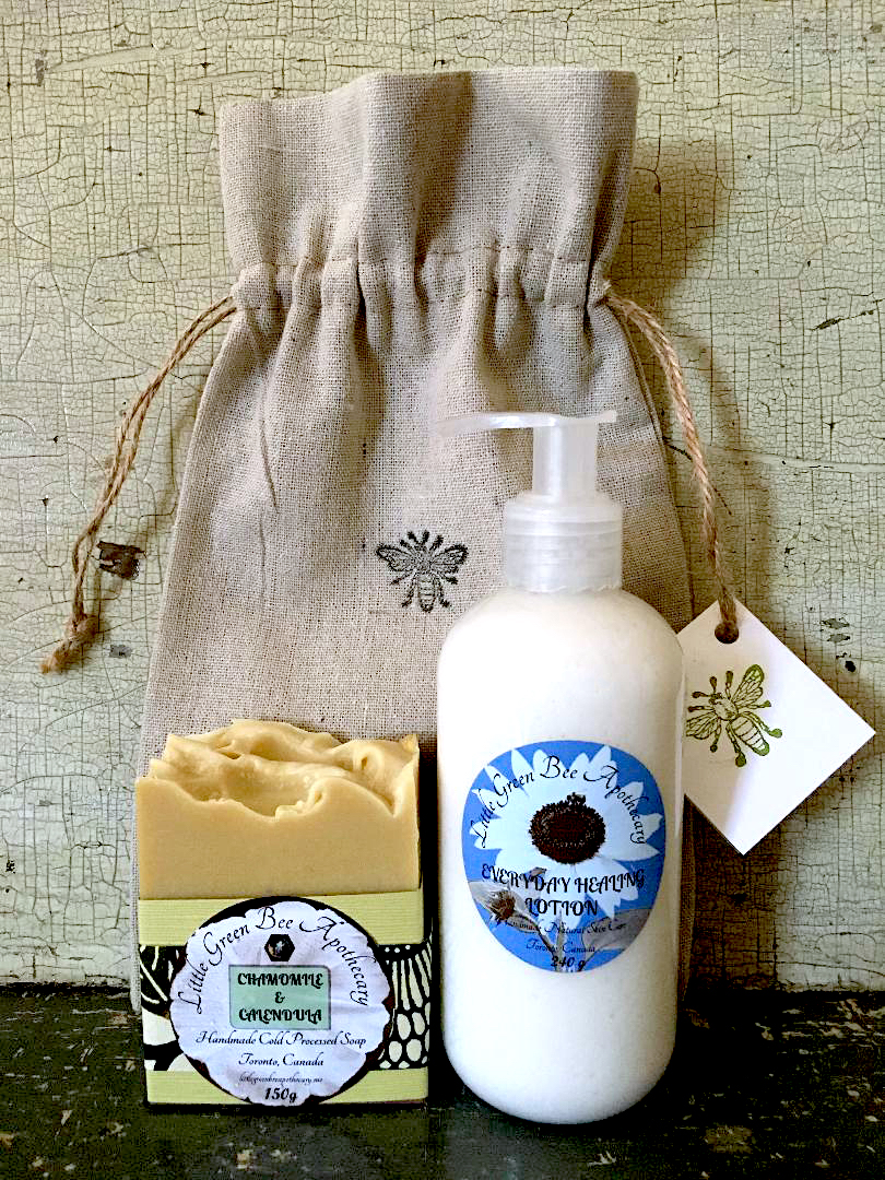 SOAP AND EVERYDAY HEALING LOTION DUO