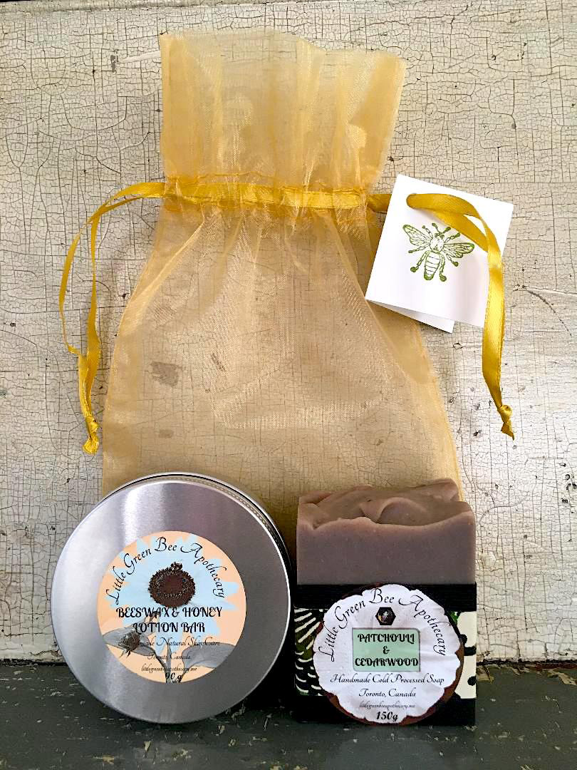 SOAP & LOTION BAR ORGANZA BAG