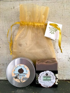 SOAP & LOTION BAR ORGANZA BAG