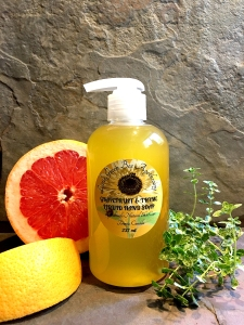 GRAPEFRUIT & THYME LIQUID HAND SOAP