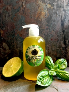 LIME & SWEET BASIL LIQUID HAND SOAP